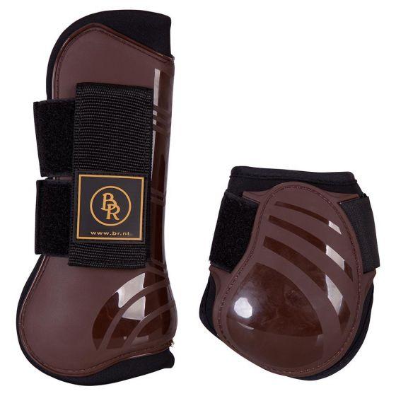 BR Komplet ścięgien i pasków do butów jeździeckich Pro Tech