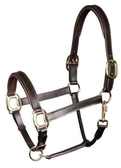 Harry's Horse Kantar skórzany, bridoonded