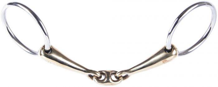 Harry's Horse Umieść pierścionek złoty mosiężny owalny link 16mm