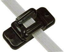 Hofman Izolator Wstążka / sznur / drut Czarny do 20 mm