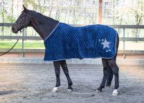 Harry's Horse Fleece Rug LouLou Ensign Blue
