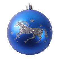 QHP Bombki bożonarodzeniowe ze wzorem z koniem