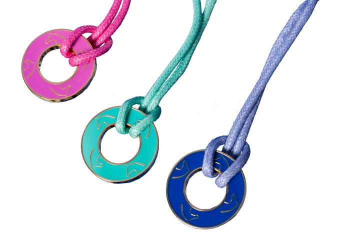Mood necklace Glasses cord