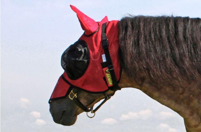 Hofman Koń Armour ochraniacz maska muchowa jeden rozmiar (osłona przeciw insektom)