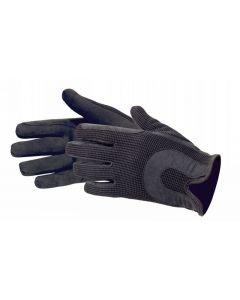 PFIFF Rękawiczki jeździeckie skóra syntetyczna / bawełna