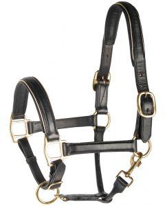Harry's Horse Kantar skórzany w kolorze czarnym, do wykończenia