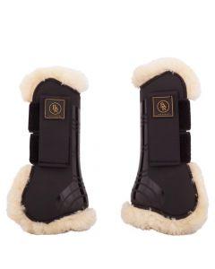 BR Paski do butów jeździeckich BR Snuggle imitacja owczej skóry
