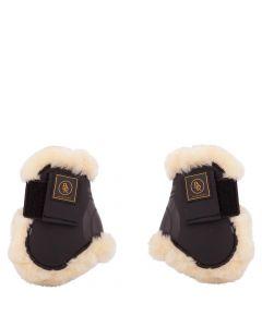 BR Paski do butów jeździeckich Fetlock Snuggle imitacja skóry owczej