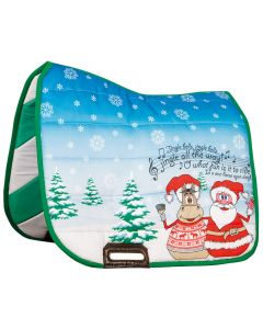 Harry's Horse Saddlepad X-mas 2-w-1