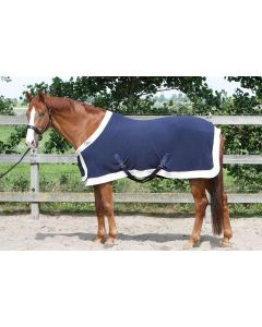 Harry's Horse Model stanowy dywanika z polaru z patką na piersi