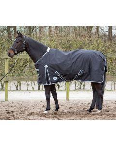 Kocyk Harry'ego Horse Thor 0 gram z podszewką z polaru w kolorze czarnym