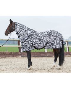 Arkusz Fly's Horse z luźną szyjką, zebrą