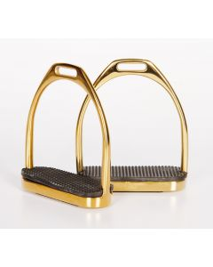 Klamry ze stali szlachetnej Harry's Horse, złote 12 cm