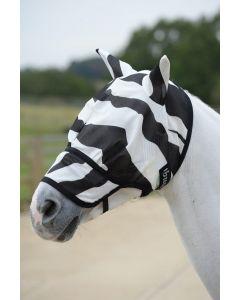 Bucas Buzz-Off Zebra Maska muchowa z nosem