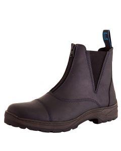 BR Stabilne buty Comfort Line Durley zamkiem błyskawicznym