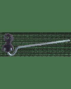 """Przewód izolatora """"idealny"""" rączka 22 cm Zwart"""