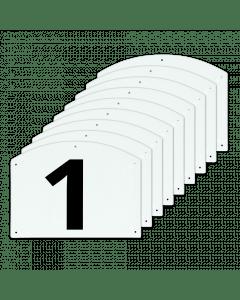 Vplast Pokaż numery skoków od 1 do 9