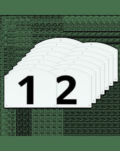 Vplast Pokaż kompletne liczby i litery skoku