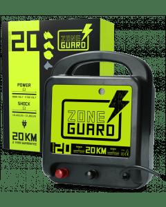ZoneGuard Elektryczne urządzenie ogrodzeniowe ZoneGuard, sieć 20 km