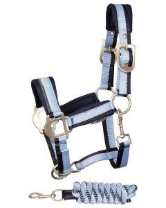 Harry's Horse Kantar zestaw STOUT! niebieski