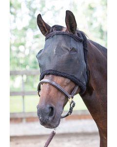 Harry's Horse Maska muchowa bez uszu czarna