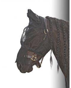 Harry's Horse Maska przeciw muchom Frędzle Flyshield
