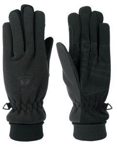Harry's Horse Rękawiczki polarowe oddychające / wodoodporne czarne