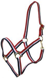 QHP Kantar z suwakiem w kolorze czerwonym/białym/niebieskim