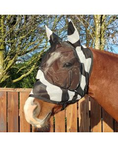 Bucas Buzz-Off Zebra Deluxe Maska z uszami
