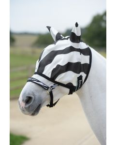 Bucas Maska mucha Buzz Off Zebra