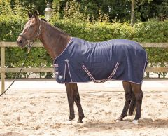 Harry's Horse Summer Rug Cool & Dry Honeycomb Navy