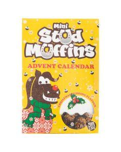 Muffiny studyjne AW18 24x12gr.Mini Muffins m / calendar VE6