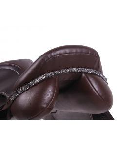 QHP Saddleboard Lupin Czarny / srebrny