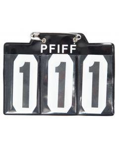 PFIFF Numer początkowy dla schabrak