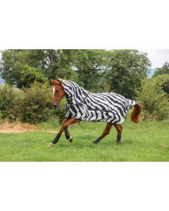 Bucas Buzz Off Zebra Pełna szyja-