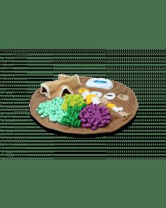 Hofman AFP Dig it - Round Fluffy mata z zabawką do świń