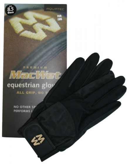 Hofman Rękawice jeździeckie Micro Mesh 9,5 Black