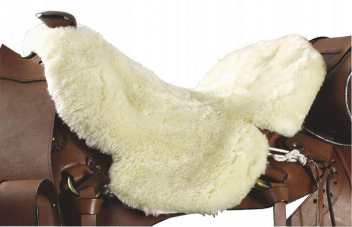 PFIFF Zachodnie pokrycie siodła ze skóry jagnięcej
